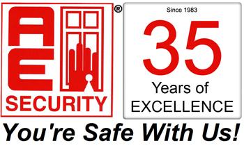 AE Security logo
