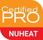 NuHeat Certified Pro logo